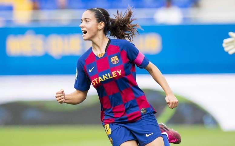 Aitana Bonmatí, une des pièces maîtresses de Barcelone . Twitter/FCBfemeni