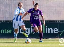 Cecilia Marcos anotó el tanto de la victoria de cabeza. LaLiga