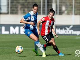 Un doblete de Lucía hurga en la herida del Espanyol. Twitter/LaLiga