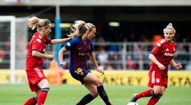 Barça y Atleti, cabezas de serie en el sorteo de Champions Femenina. Twitter/FCBfemeni
