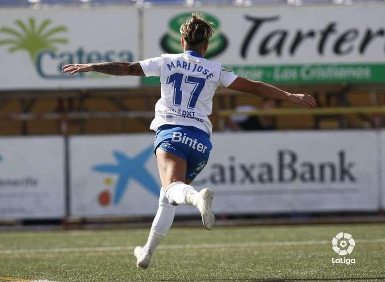 María José Pérez renovó con el Granadilla hasta 2021. LaLiga
