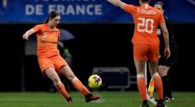 Aniek Nouwen se encontraba concentrada en Francia. ONSOranje
