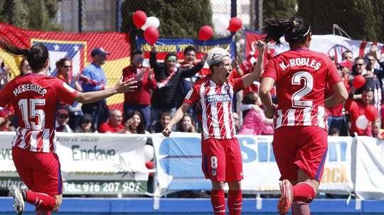 El Atlético Femenino jugará un amistoso en Bogotá. AtletiFemenino