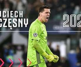 Wojciech Szczesny renovou com a Juventus até 2024. Twitter/juventusfc