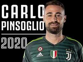 Carlo Pinsoglio renovó por una temporada más. Twitter/juventusfc