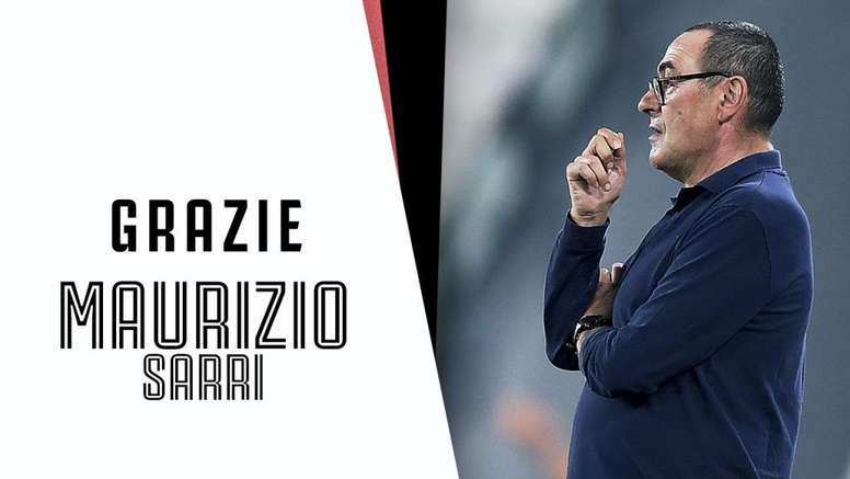 Maurizio Sarri é demitido da Juventus. Twitter/JuventusFC