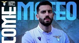 Officiel : Matteo Musacchio signe à la Lazio. SSLazio