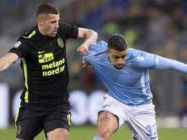 La Lazio se ha impuesto al Hellas de Verona por 5-3 en un partido muy disputado. Twitter