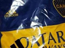 Essa pode ser a próxima nova camisa do Boca. Twitter/ArevaloMartin