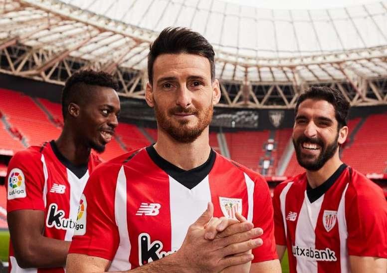bce7110848ea6 La camiseta oficial del Athletic para la 2018-19 - BeSoccer