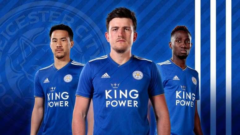 930538bb9b La nueva camiseta del Leicester para la 2018-19 - BeSoccer