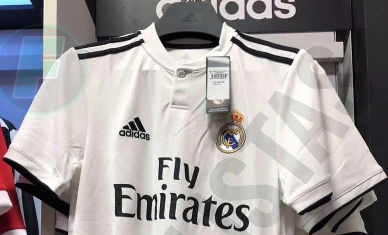 ad41f12856e99 La posible nueva camiseta del Madrid para la 2018-19 - BeSoccer