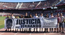 La justicia por Fernando llega al Monumental. RiverPlate