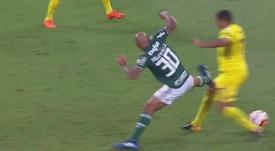 Felipe Melo est toujours le même. Capture/FoxSports