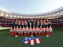 Photo officielle. AtletiFemenino
