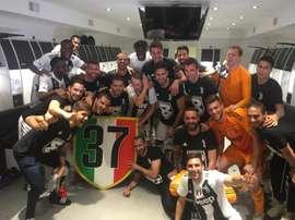 La Juventus ne veut pas oublier ses titres. JuventusFC