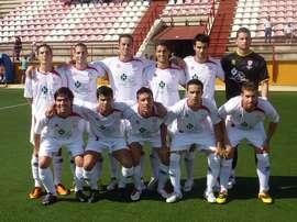 La plantilla de La Palma CF. LaPalmaClubdeFútbol