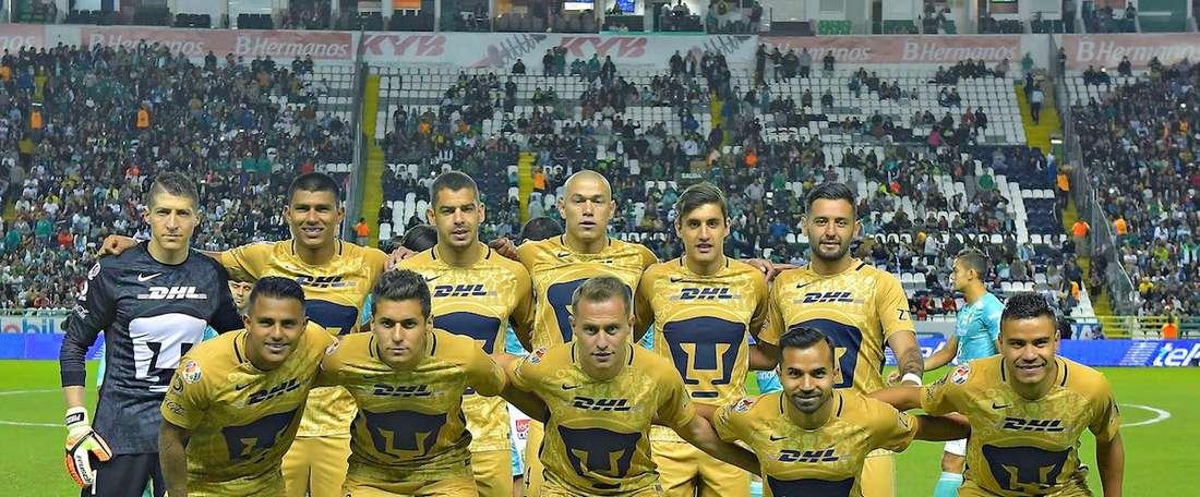 Los seis jugadores transferibles de Pumas. PumasMX