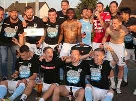 El 1860 Munich está a tres partidos de ascender. TSV1860