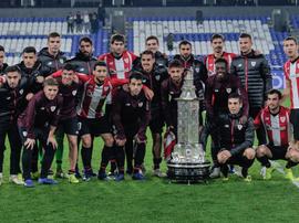 El Athletic venció al Deportivo en el Teresa Herrera. Twitter/AthleticClub