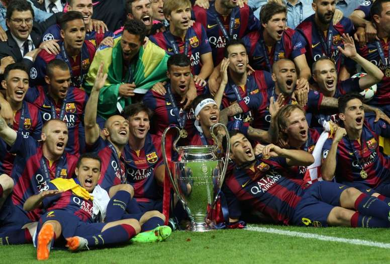 Five Years Since Barca S Second Treble Besoccer