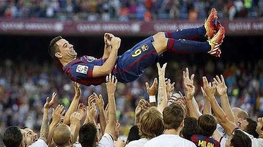 Cinq ans sans le chef d'orquestre du Barça. EFE