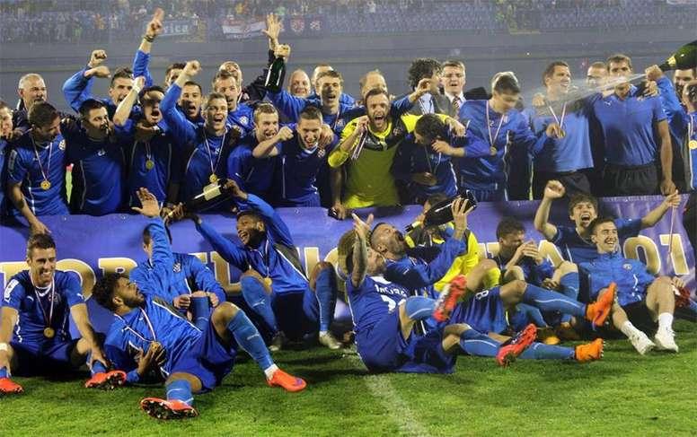 El conjunto croata venció por 0-2 ante el Astana. AFP