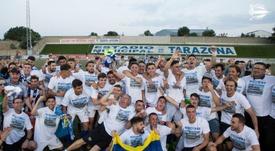 El filial 'babazorro' logró el ascenso a la categoría de bronce. Twitter/Alaves