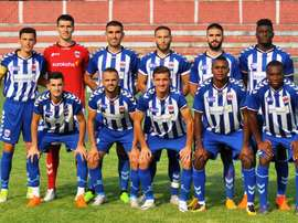 El Prishtina FC, con opciones de hacer historia ante el Europa. PrishtinaFC