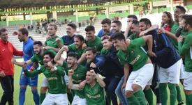 El Racing de Ferrol-Jaén, la eliminatoria de los goles. Twitter/racingferrolsad