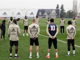 El Madrid recordó a Kobe. Twitter/RealMadrid