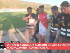La Policía detuvo a un jugador por suplantación. Twitter/clarincom