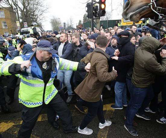 Millwall have a reputation. AFP