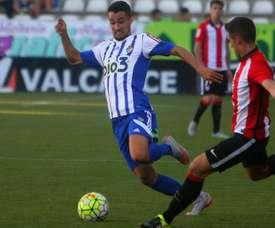 La Ponfe no pudo con un gran Bilbao Athletic comandado por Aketxe. Twitter