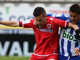 Basha cree que a la Ponferradina le falla el acierto de cara al gol. Archivo/EFE