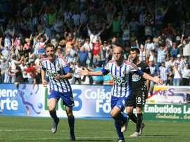 La Ponferradina vence ante el Lugo. SDPonferradinaSAD