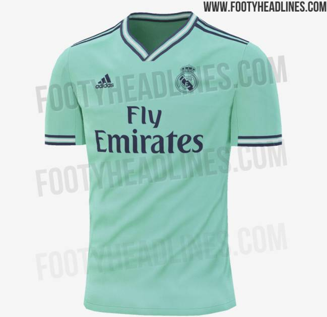 huge selection of 37b97 9985b Real Madrid's possible third kit for 2019-20 has been leaked ...