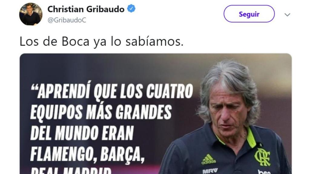 Rajada Del Candidato Oficialista De Boca Contra River