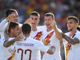 Roma vence com gol de Dzeko e pouco mais. Twitter/OfficialASRoma
