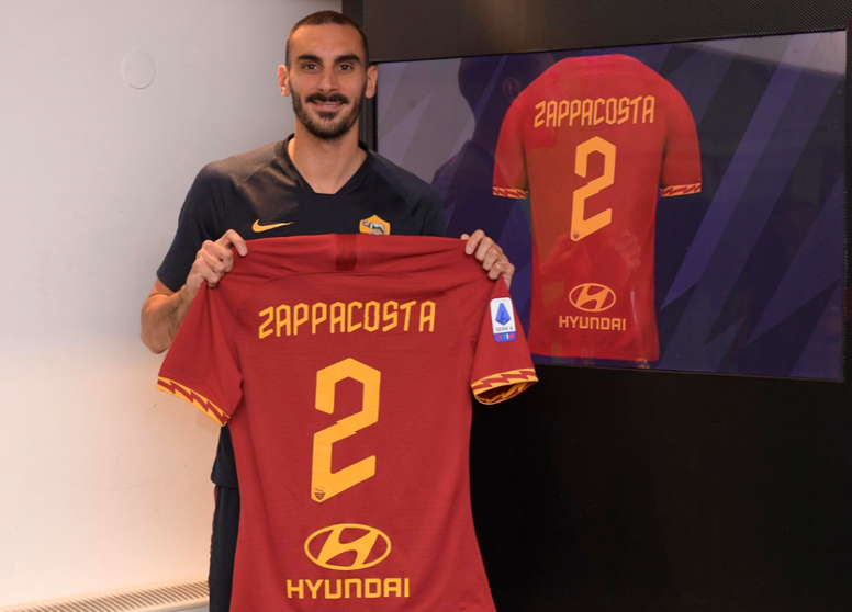 Zappacosta est prêté à la Roma. Twitter/DZappacosta