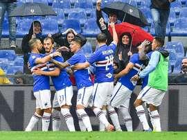 Gabbiadini negativo al tampone. Twitter/Sampdoria