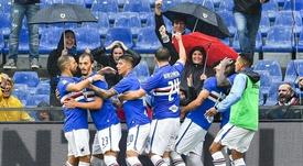 Sampdoria-Roma reporté pour fortes pluies ? Twitter/sampdoria