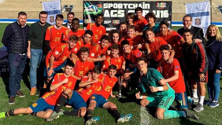 España Sub 16, campeona. SeFutbol