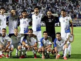 La FIFA expulsó a Kuwait de sus competiciones. AFP