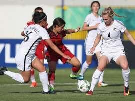 Nueva Zelanda estará en el Mundial femenino Sub 17 de Uruguay. SeFútbol