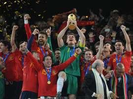 Los ciudadanos de Corea del Norte creen que la ganadora del Mundial de 2010 fue Portugal. AFP