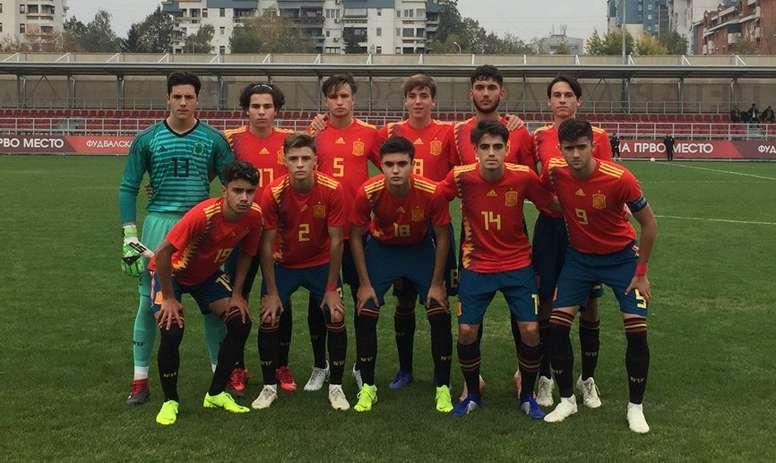 España Sub 17 pasa por encima de Israel - BeSoccer 135728890fdc6