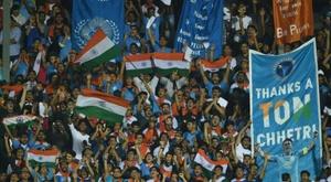 La sélection indienne avait renoncé au Mondial en 1952. AFP