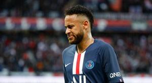 PSG deixaria Neymar sair por 180 milhões de euros. AFP
