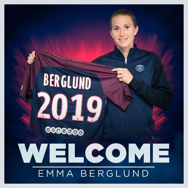La Suédoise Emma Berglund signe au PSG. PSG